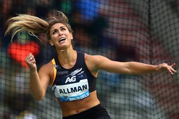 US discus thrower Valarie Allman (Getty Images)