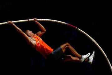 Trey Hardee on the way to his first US Decathlon title (Getty Images)