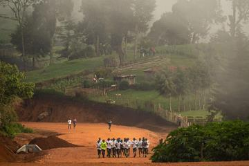 Runners training in rural Kenya (NN Running Team/Dan Vernon)