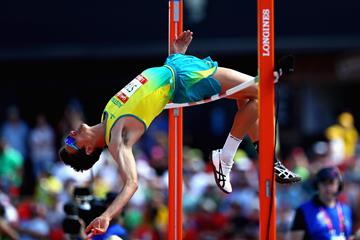 Brandon Starc, 2018 Commonwealth high jump champion (Getty Images)