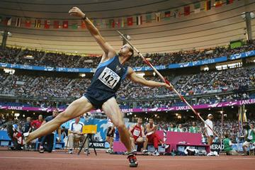Tom Pappas at the 2003 World Championships in Paris (Getty Images)