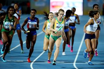 The 4x400m heats at the IAAF/BTC World Relays, Bahamas 2015 (Getty Images)