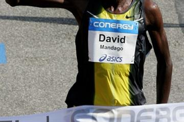 Reason to smile: David Mandago wins in Hamburg (/Bongarts)