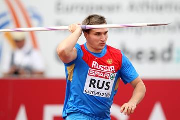 Dmitri Tarabin at the 2013 European Team Championships (Getty Images)