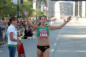 Kara Goucher wins her final pre-Berlin test in Chicago (organisers)