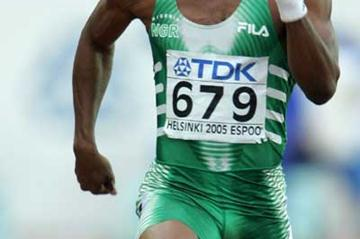 Nigeria's Olusoji Fasuba in Helsinki (Getty Images)