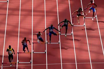 The 400m hurdles heats at the IAAF World Championships London 2017 (Getty Images)