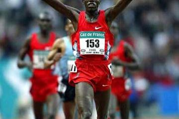 Abraham Chebii wins 5000 metres in Paris (Getty Images)
