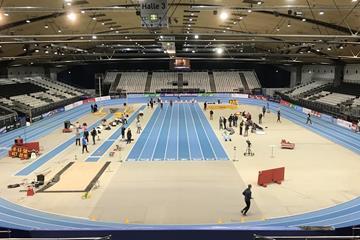 Europahalle in Karlsruhe (World Athletics)