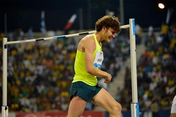 Ivan Ukhov, winner of the high jump in Doha (DECA Text & Bild)
