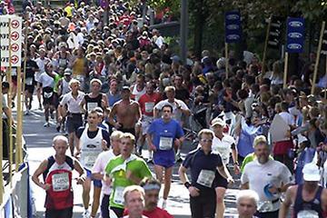 General view from 2004 Cologne Marathon (Ford Köln Marathon)