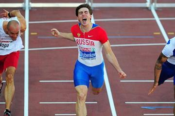 Big day for Sergey Shubenkov in Helsinki (Getty Images)