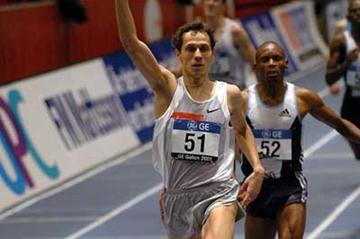 Yuriy Borzakovskiy makes it three victories in a row in Stockholm (Hasse Sjogren)