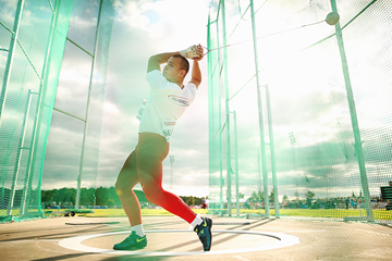 Hungarian hammer thrower Bence Halasz (Getty Images)