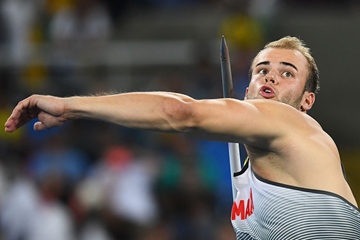 German javelin thrower Julian Weber (AFP / Getty Images)
