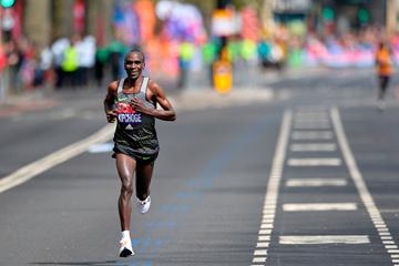 Kenyan distance runner Eliud Kipchoge (AFP / Getty Images)