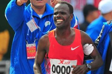 Negari Terfa, winner of the 2013 Xiamen Marathon (Organisers)