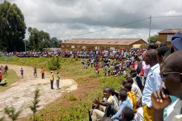 The Southern Conference athletics competition in Rutovu, Bururi Province ()
