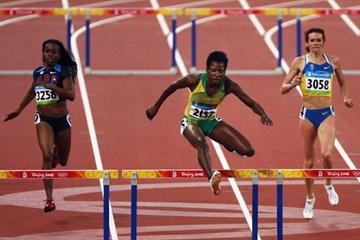 Tiffany Ross-Williams, Melaine Walker and Anastasiya Rebchenyuk qualify for the 400m hurdles final (Getty Images)