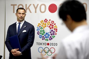 Koji Murofushi at the announcement of his appointment as sporting director of Tokyo 2020 (Tokyo 2020 - Shugo Takemi)