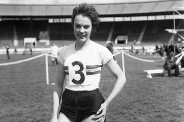 British sprinter June Foulds (Getty / Hulton)