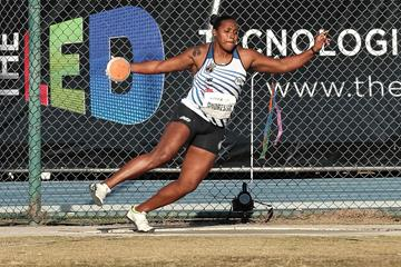 Brazilian discus thrower Andressa de Morais (Wagner Carmo)
