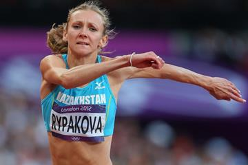 Olga Rypakova on her way to Olympic triple jump gold (Getty Images)