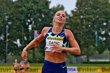 Ivona Dadic at the Austrian Combined Events championship in Gotzis (Photo Plohe)