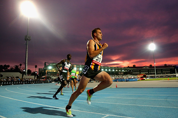 Athletics action in Melbourne (Getty Images)