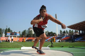 Emel Dereli at the IAAF World Youth Championships - Day 2 (Getty Images)