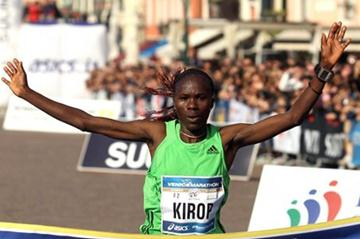Helena Kirop clocks 2:23:37 in Venice (Giancarlo Colombo/FIDAL)