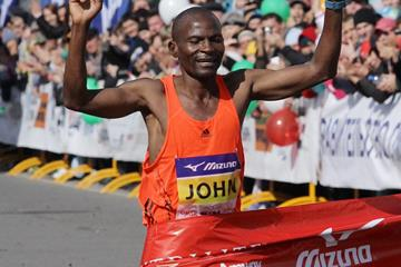 John Kyui wins the Siberian International Marathon (Organisers)