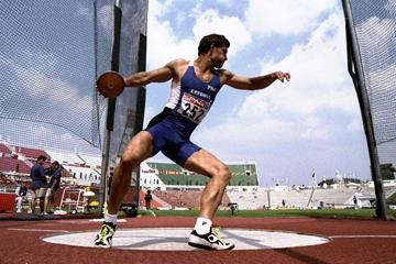 Erki Nool at the 1998 European Chamipionships (Getty Images)