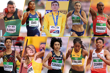 The top 10 moments from the IAAF World U20 Championships Tampere 2018 (Getty Images)
