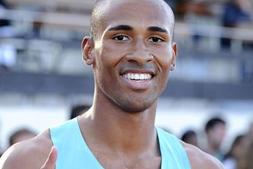Damian Warner at the 2013 Decastar meeting in Talence (Iris Hensel)