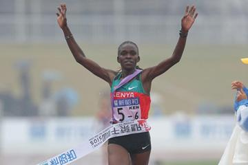 Joyce Chepkurui anchors Kenya to a title defence at the Chiba Ekiden (Kazuo Tanaka/Agence SHOT)