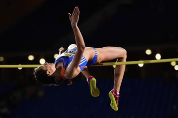 Maria Kuchina, winner of the high jump at the IAAF Continental Cup Marrakech 2014 (Getty Images)