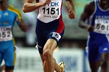 Jeremy Wariner - 43.45 in Osaka (Getty Images)