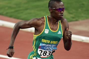 Hezekiel Sepeng of South Africa in the men's 800m (Getty Images)
