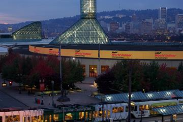 The Oregon Convention Center, venue of the IAAF World Indoor Championships, Portland 2016 (LOC)