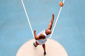 Piotr Malachowski in the discus at the IAAF World Championships (Getty Images)