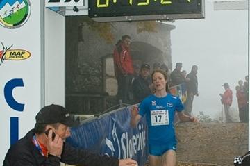 Andrea Mayr takes the Smarna Gora Race in Ljubljana (Organisers)