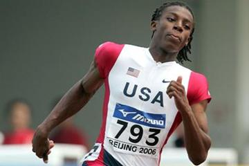 Calvin Smith of USA in action in the men's 200m (Getty Images)