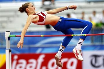 Montenegro's Marija Vukovic sails over 1.91m to win World Junior High Jump gold (Getty Images)
