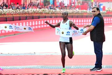 Amane Beriso wins the Mumbai Marathon (Procam International / organisers)