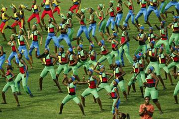 General View of Kingston 2002 Opening Ceremony (Getty Images)