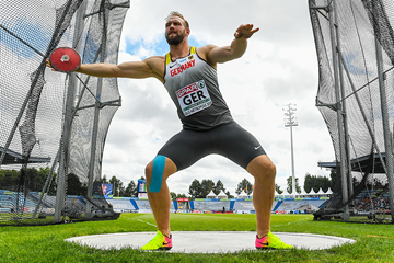 Robert Harting, winner of the discus at the European Team Championships in Lille (Getty Images)
