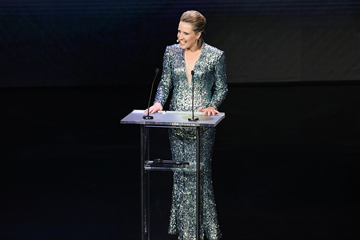 Katharine Merry at the 2017 IAAF Athletics Awards (Philippe Fitte)