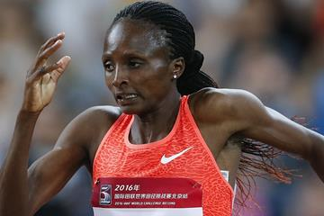 Hellen Obiri in action (Getty Images)