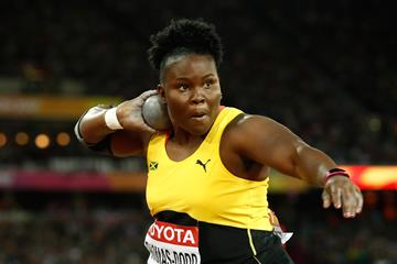 Danniel Thomas-Dodd in the shot put at the IAAF World Championships London 2017 (Getty Images)